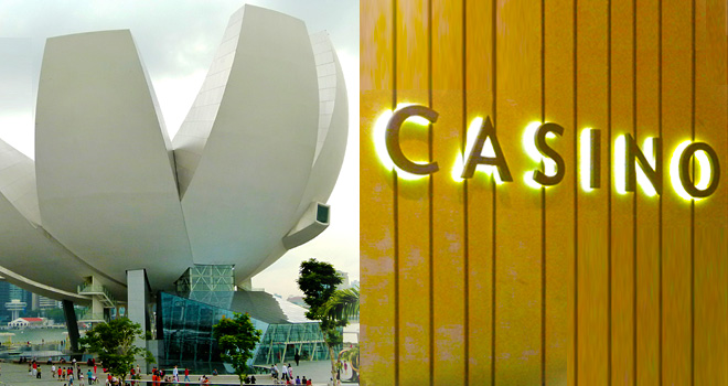 ArtsScience Museum and MBS Casino