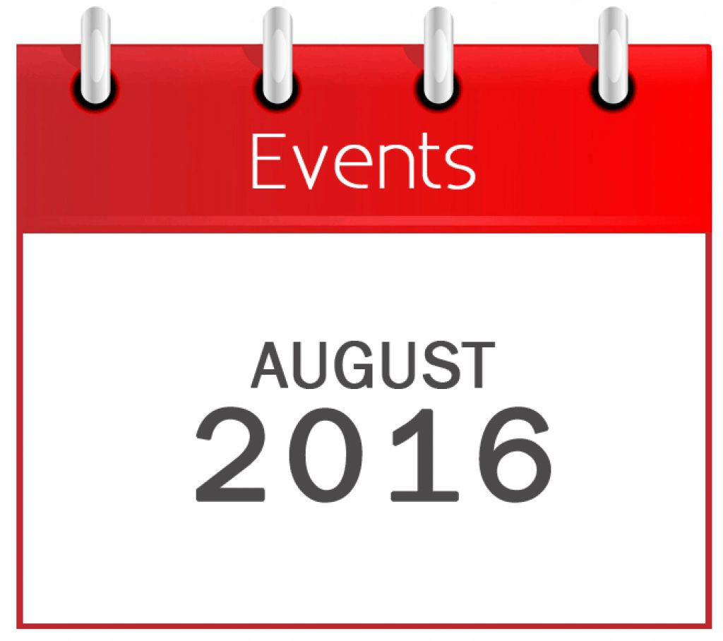 August Events 2016