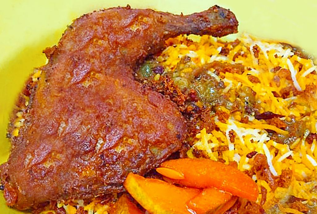 Singapore Food Series: Briyani