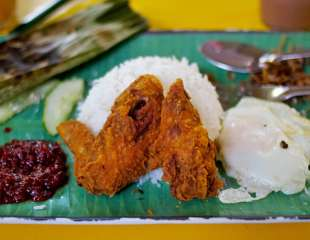 Singapore Food Series: Nasi Lemak
